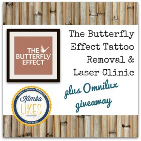 Kimba Likes The Butterfly Effect Laser Clinic, Tattoo Removal