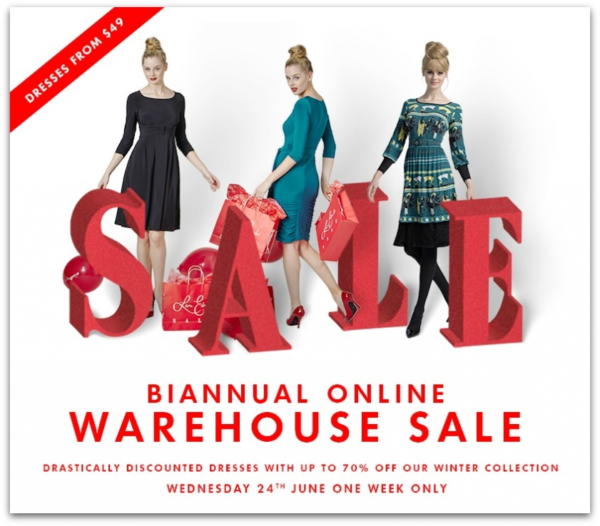 Currently Crushing On Leona Edmiston Biannual Online Warehouse Sale. Up to 70% off so run don
