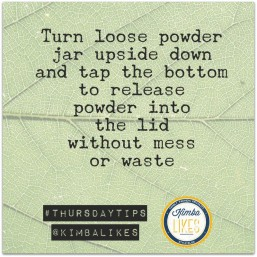 Kimba Likes Thursday Tips, Tricks & Life Hacks - find more at kimbalikes.com #lifehacks #makeuptips
