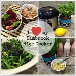 Kimba Likes Kambrook 5 Cup Rice Master - easy peasy lemon squeezy gluten free meals for people who can't cook
