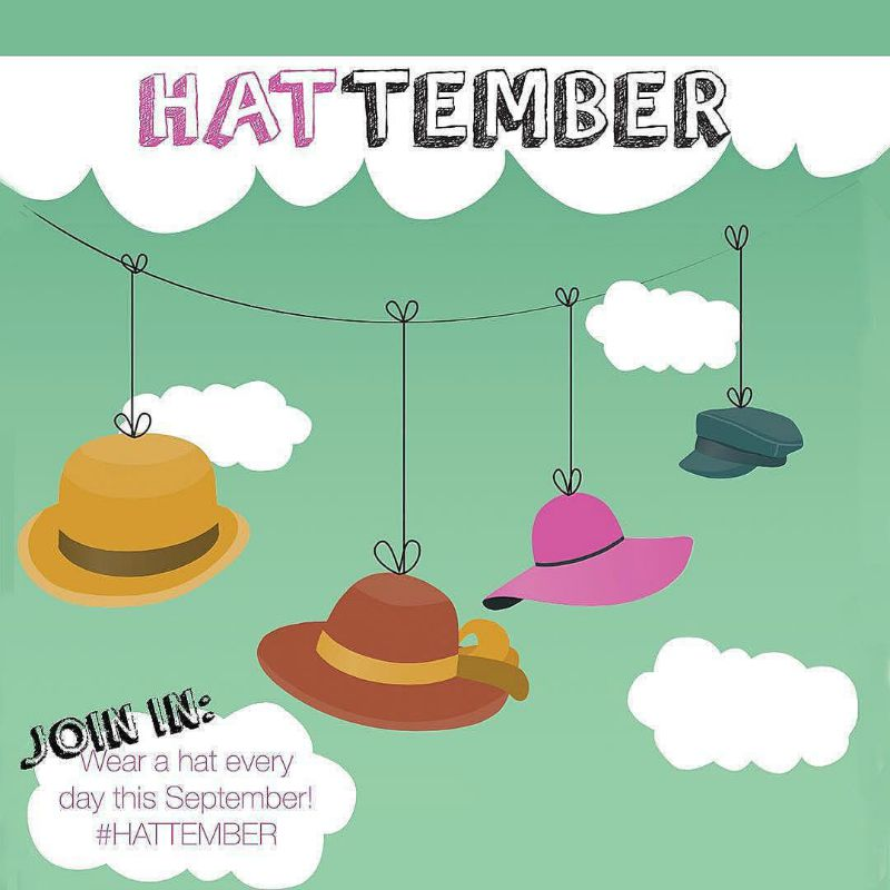 Kimba Likes #HATTEMBER with Embellish Atelier - wearing hats for 30 days to raise funds and awareness for the JSK Fund #kimbalikes #hattember #30daysofhats