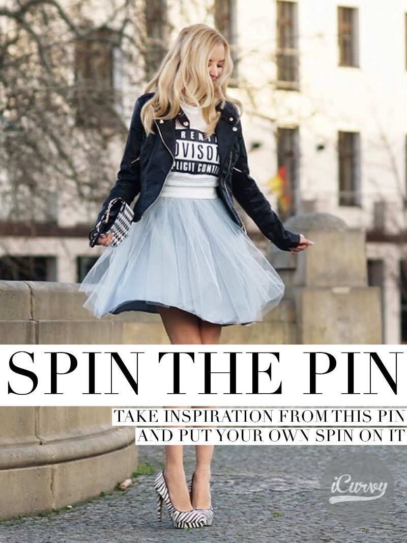 Kimba Likes SPIN the PIN with iCurvy - sharing the details of my August SPIN the PIN outfit #kimbalikes #SPINthePIN
