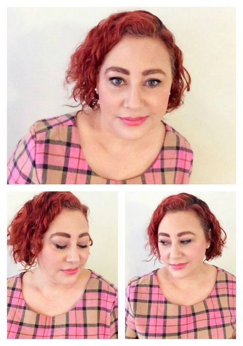 Kimba Likes Pretty in Pink for #SpringFling style challenge - wearing pretty pink makeup from Natural Supply Co