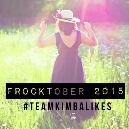 Kimba Likes Frocktober - join Team Kimba Likes and rock your frock for OCRF #Frocktober #TeamKimbaLikes #OCRF
