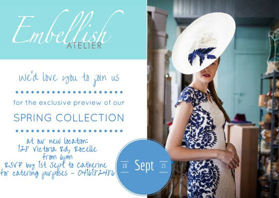 Kimba Likes the Fractured Florals SS15 collection by Embellish Atelier #EmbellishAtelier #hats #kimbalikes