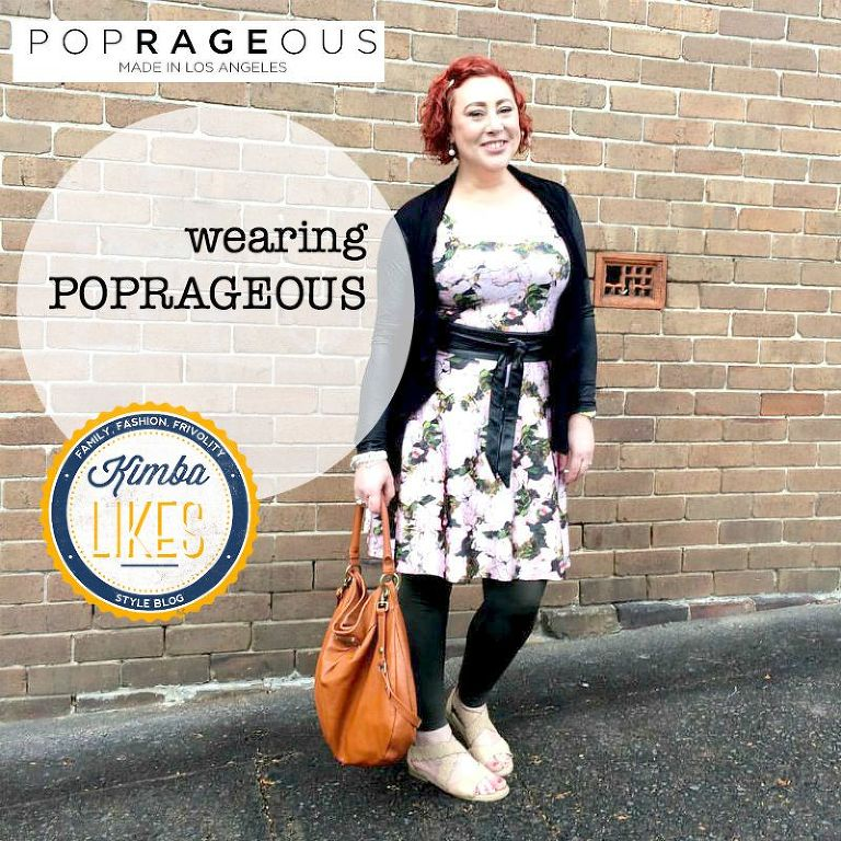 Kimba Likes Poprageous - an LA printed apparel label inspired by pop culture, art and fearless fashion #kimbalikes #poprageous