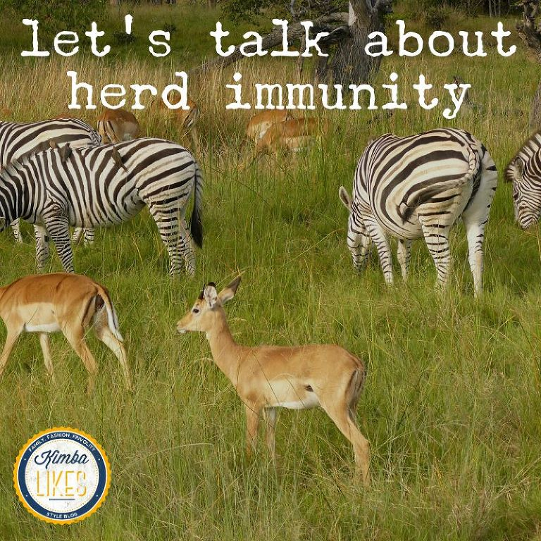 Kimba Likes Mindful Living - I want to talk about herd immunity. Why I am pro-vax #kimbalikes #mindfulliving