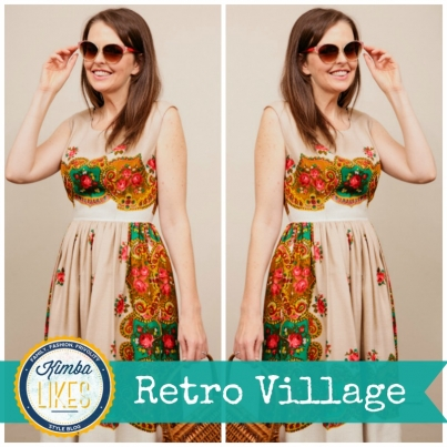 Kimba LIkes Retro Village - my latest retro cute vintage love #retrocute #vintage #RetroVillage #rozelle