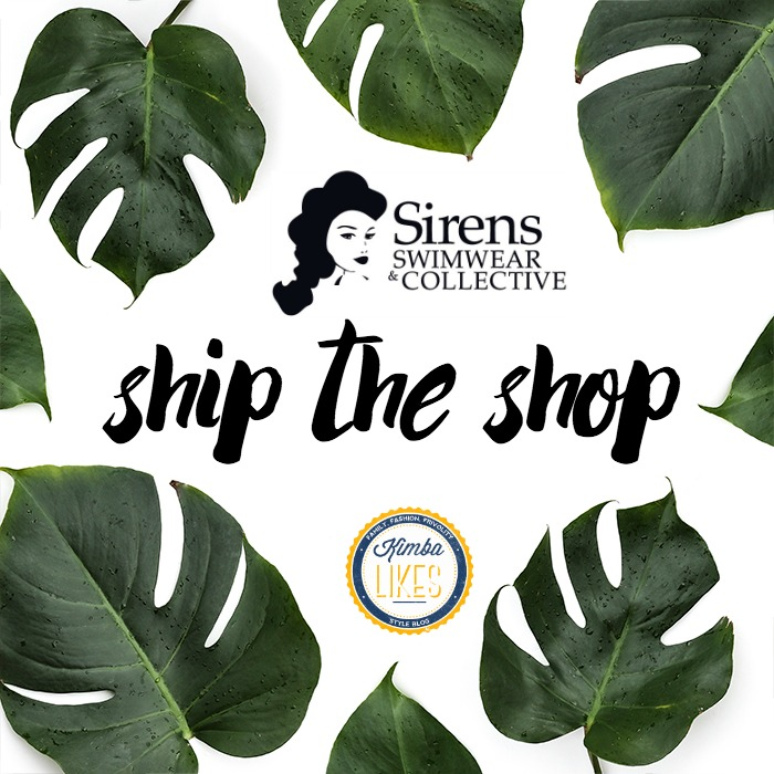 Kimba Likes Sirens Swimwear Ship the Shop - the fabulous way to try and buy gorgeous retrocute swimwear in your own house! #sirenswimwear #retrocute #kimbalikes #shiptheshop