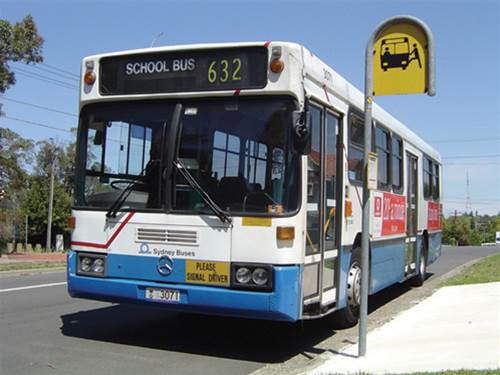 Kimba Likes Bus Safety Week - a Transport for NSW initiative to increase safety for school kids, pedestrians, bus passengers and drivers #BusSafetyWeek