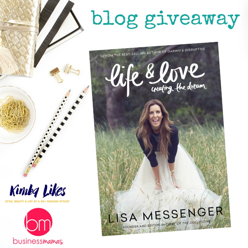Kimba Likes being a Business Mamas blog ambassador - share your dream career and how Business Mamas could help you, and you could win a Lisa Messenger book