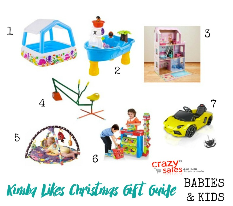 Kimba Likes Crazy Sales - check out my Babies & Kids Crazy Sales Christmas Gift Guide from crazysales.com.au