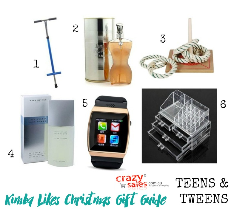 Kimba Likes Crazy Sales - check out my Teens & Tweens Crazy Sales Christmas Gift Guide from crazysales.com.au