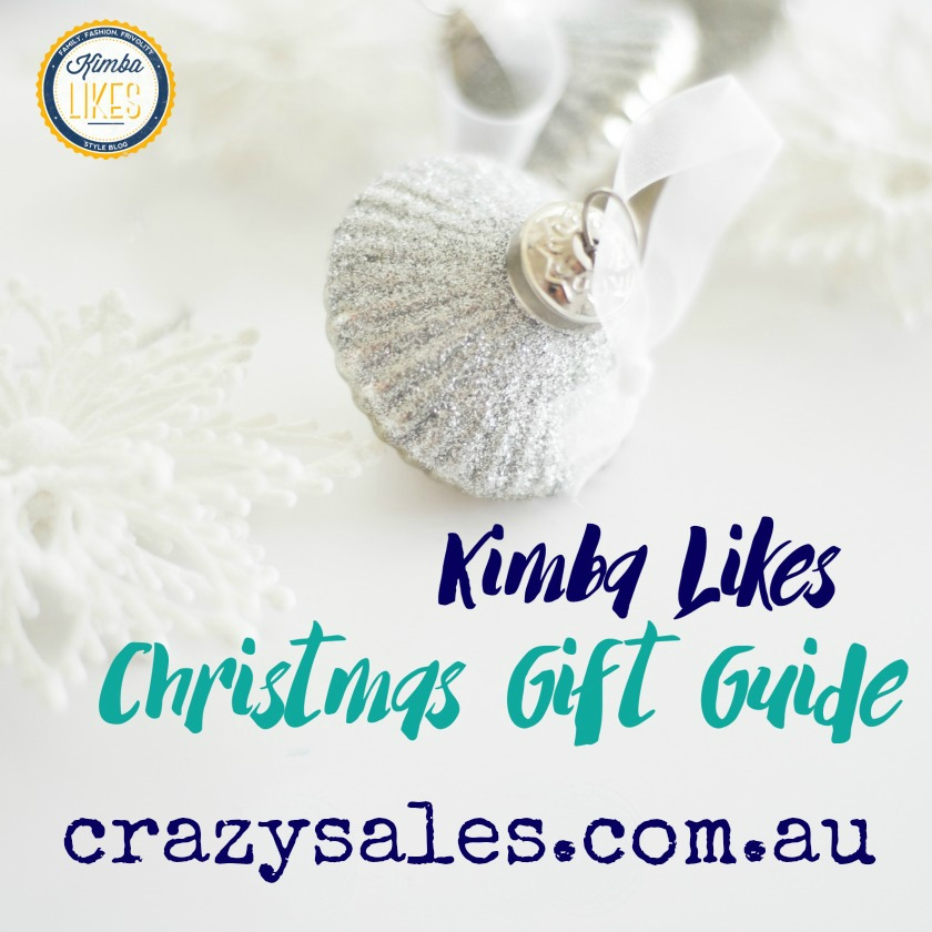Kimba Likes Christmas Gift Guide 2015 - check out my gorgeous picks for all those special people in your life thanks to Crazy Sales