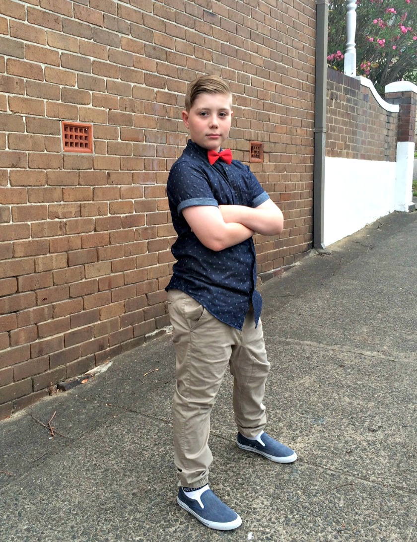 Kimba Likes Boyo Style - check out what my gorgeous young man wore to his Year 6 Graduation farewell dinner