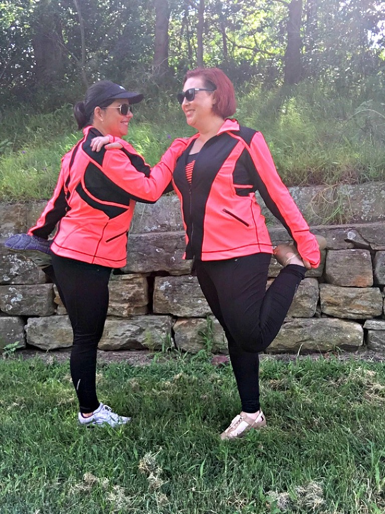 Kimba Likes City Chic Activewear - wearing activewear designed for curves