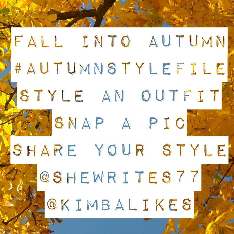 Kimba Likes Autumn Style File with She Writes | kicking off Autumn Style File with a 7 day style challenge