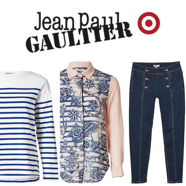 Kimba Likes Currently Crushing On - in love with the Jean Paul Gaultier for Target designer collaboration