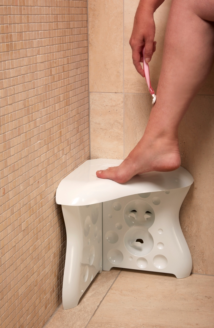 Genial Kimba Likes ShavEzy   The Shower Foot Rest To Make Your Life Easier