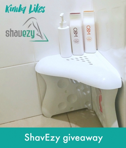 Kimba Likes ShavEzy - the shower foot rest to make your life easier