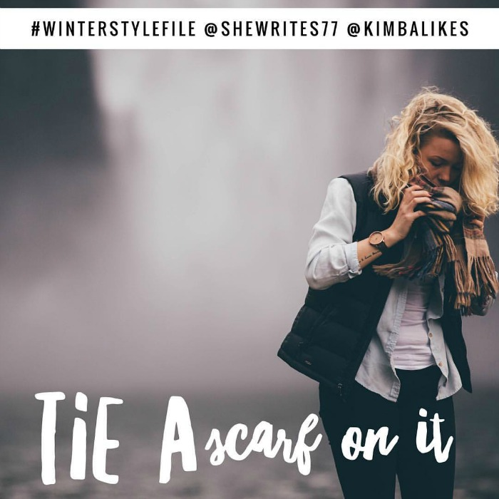 Kimba Likes Winter Style File style challenge with She Writes