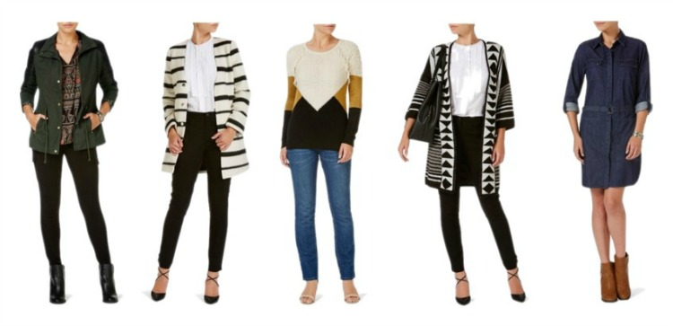 Kimba Likes Rockmans winter style. Five key pieces styled two ways for winter