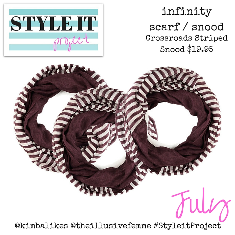 Kimba Likes Style it Project with The Illusive Femme - all about the snood this July