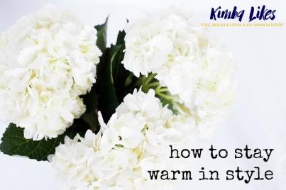 How to stay warm in style this winter | Kimba Likes