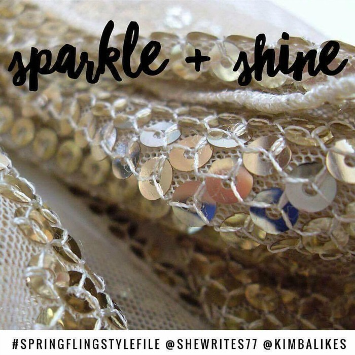 Spring Fling Style File 14 day challenge | sparkle and shine