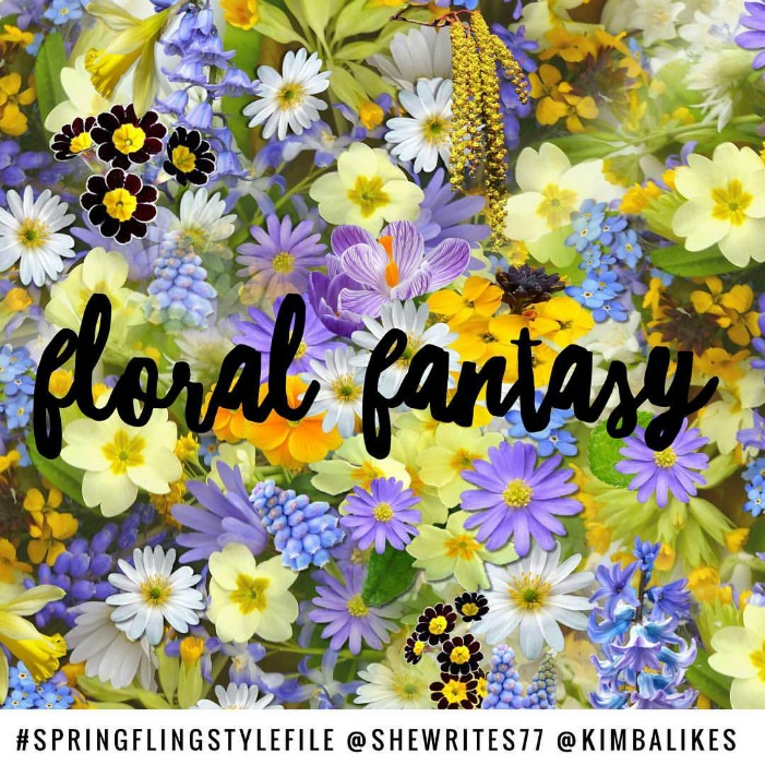 Spring Fling Style File | Floral Fantasy with Kimba Likes and She Writes