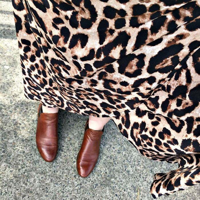 Spring Fling Style File | leopard love | Little Party Dress leopard wrap maxi skirt