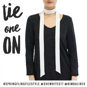 Spring Fling Style File | tie one on