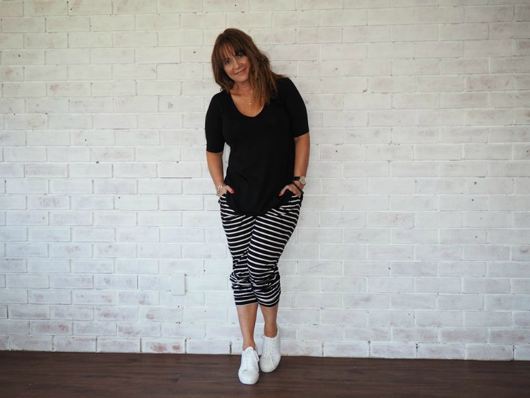 Kimba Likes Style it Project November | striped pants