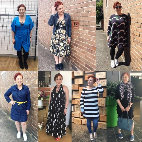 Kimba Likes Frocktober 2016 - what I wore for Week 2 of my 31 dresses in 31 days