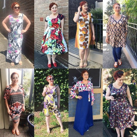 Kimba Likes Frocktober 2016 | my third week of frockery