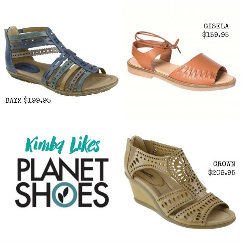 Kimba Likes Planet Shoes | summer sandals
