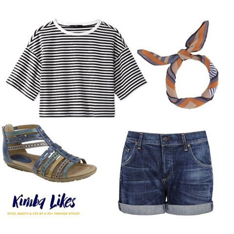 Wednesday Wish List for Summer Style File | perfect summer casual style