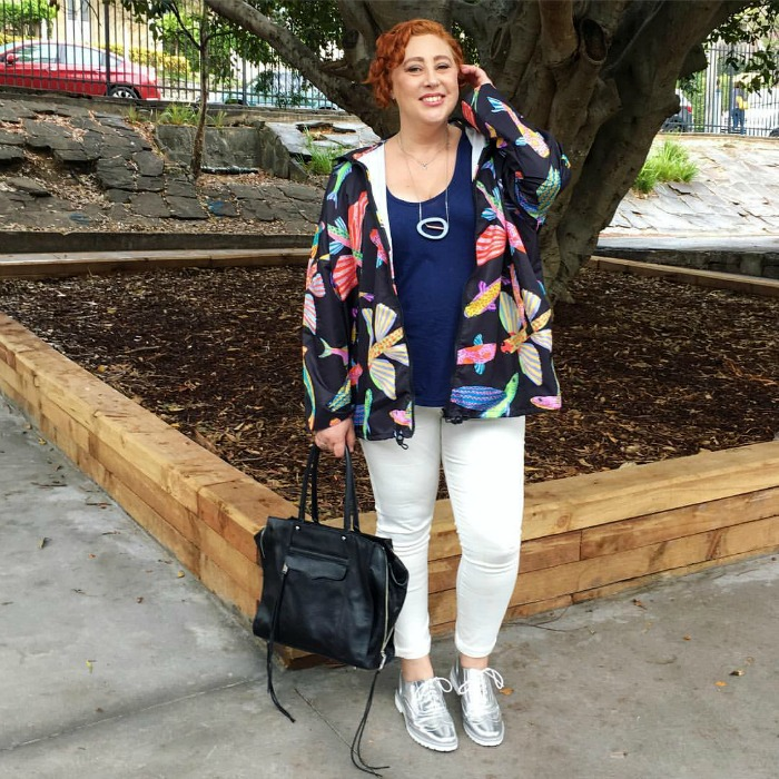 The Thrifted Redhead | thrifted Country Road jeggings