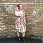 Autumn Style File   one dress two seasons with Kimba Likes