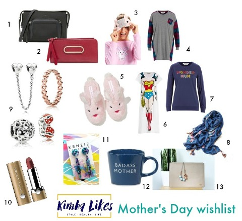 Kimba Likes Mother's Day Wishlist