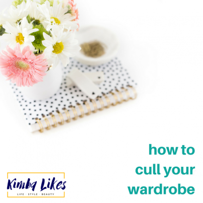 Kimba Likes | tips on how to cull your wardrobe
