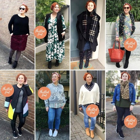 Loving Preloved with The Thrifted Redhead | Kimba Likes June fave outfits