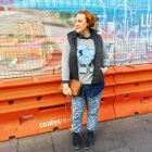 Kimba Likes Winter Style File | wearing Gorman sweater, double denim and puffer