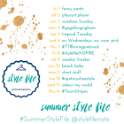 Kimba Likes Summer Style File | 14 day style challenge