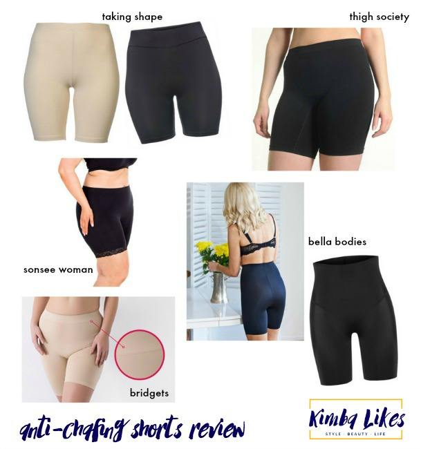 Kimba Likes anti-chafing shorts review