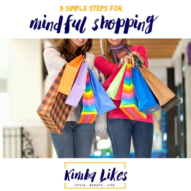Kimba Likes 3 simple steps for mindful shopping