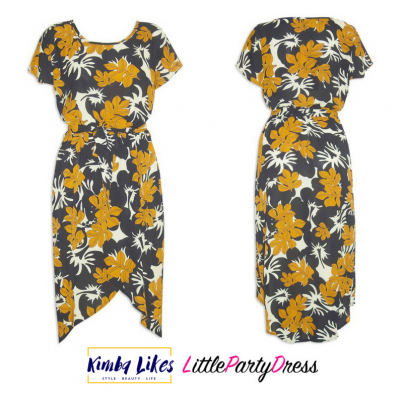styling day to night   Little Party Dress Sublime Black Floral Dress