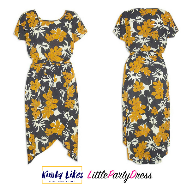 styling day to night | Little Party Dress Sublime Black Floral Dress