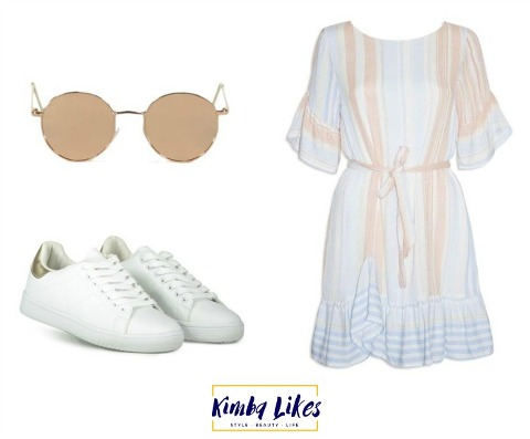 Kimba Likes Little Party Dress Ellie - styled three ways for Friday Faves