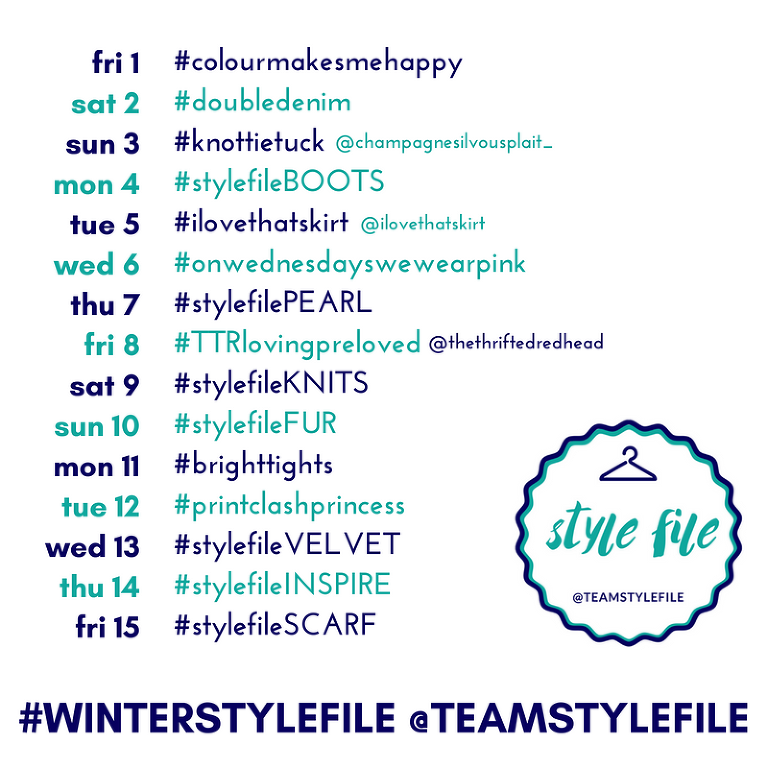 Winter Style File style challenge 2018